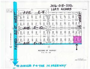 Photo of Nw Cor Avenue E12/15 Stw, Caliche, CA 93534 (MLS # 17007738)