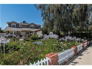 Photo of 22057 ALIZONDO Drive, Woodland Hills, CA 91364 (MLS # SR17143036)