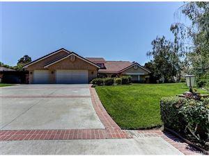 Photo of 21604 PARVIN Drive, Saugus, CA 91350 (MLS # SR17107170)