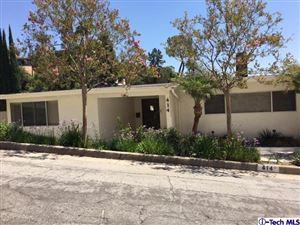 Photo of 414 KEMPTON Road, Glendale, CA 91202 (MLS # 317006422)