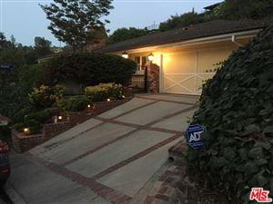 Photo of 3558 VISTA HAVEN Road, Sherman Oaks, CA 91403 (MLS # 17261644)