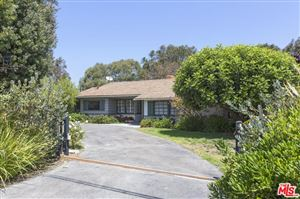 Photo of 28943 GRAYFOX Street, Malibu, CA 90265 (MLS # 17245762)