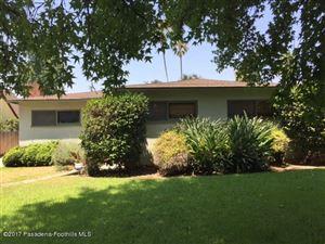 Photo of 1039 North HOLLISTON Avenue, Pasadena, CA 91104 (MLS # 817000989)