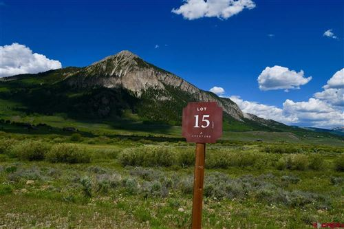 Photo of Lot 15 Pyramid Ave, Crested Butte, CO 81224 (MLS # 737989)