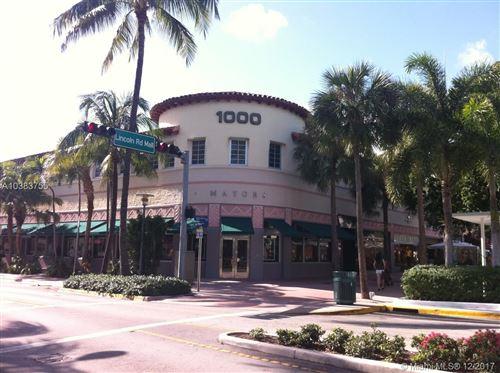 Photo of 1000 Lincoln Rd #208, Miami Beach, FL 33139 (MLS # A10383755)