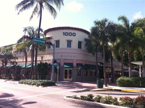 Photo of 1000 Lincoln Rd #215, Miami Beach, FL 33139 (MLS # A10378796)