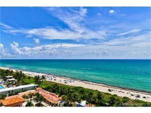 Photo of 4775 Collins Ave #1201, Miami Beach, FL 33140 (MLS # A10330949)