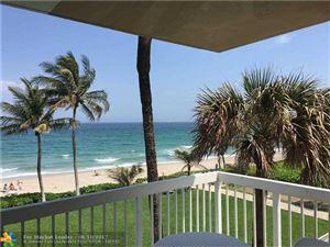 Photo of 1069 Hillsboro Mile, Hillsboro Beach, FL 33062 (MLS # F10071527)