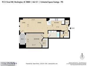 Tiny photo for 915 E ST NW #511, WASHINGTON, DC 20004 (MLS # DC10056011)