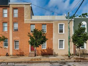 Photo of 16 FORT AVE W, BALTIMORE, MD 21230 (MLS # BA10081029)