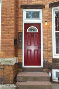Photo of 407W. 28th, BALTIMORE, MD 21211 (MLS # BA10013058)