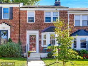 Photo of 153 REGESTER AVE, BALTIMORE, MD 21212 (MLS # BC10069085)