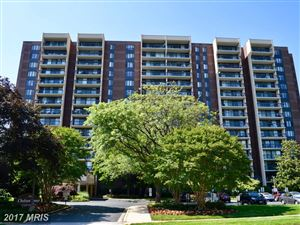 Photo of 7401 WESTLAKE TER #1406, BETHESDA, MD 20817 (MLS # MC9973101)