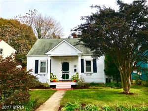 Photo of 1205 PRESIDENT ST, ANNAPOLIS, MD 21403 (MLS # AA10104145)
