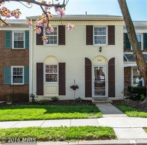 Photo of 608 AZALEA DR #1, ROCKVILLE, MD 20850 (MLS # MC9630157)
