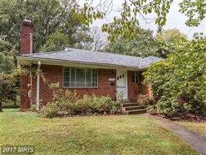 Photo of 1420 FLORA TER, SILVER SPRING, MD 20910 (MLS # MC10083167)