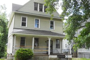 Photo of 3017 CLIFTON AVE, BALTIMORE, MD 21216 (MLS # BA9987189)