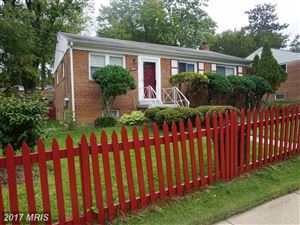 Photo of 11905 IVANHOE ST, SILVER SPRING, MD 20902 (MLS # MC10085191)
