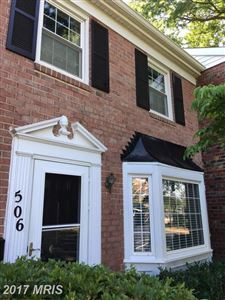 Photo of 506 AZALEA DR #40, ROCKVILLE, MD 20850 (MLS # MC9975196)