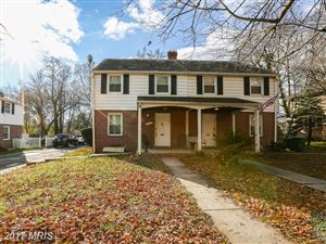 Photo of 2715 CHESWOLDE RD, BALTIMORE, MD 21209 (MLS # BA10107223)