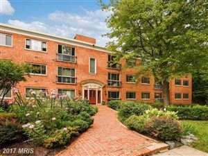 Photo of 2711 ORDWAY ST NW #111, WASHINGTON, DC 20008 (MLS # DC10062271)