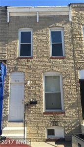 Photo of 533 GLOVER ST, BALTIMORE, MD 21205 (MLS # BA10026280)