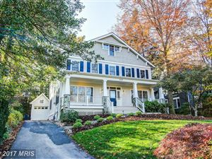 Photo of 4000 THORNAPPLE ST, CHEVY CHASE, MD 20815 (MLS # MC9813328)