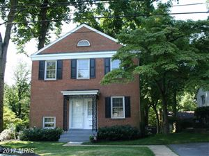 Photo of 3600 KENILWORTH DRWY, CHEVY CHASE, MD 20815 (MLS # MC10103335)