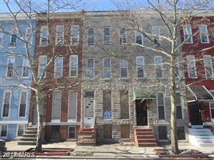 Photo of 1414 FULTON AVE, BALTIMORE, MD 21217 (MLS # BA10116386)