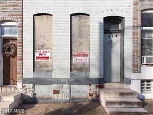 Photo of 1614 BOND ST N, BALTIMORE, MD 21213 (MLS # BA10116400)