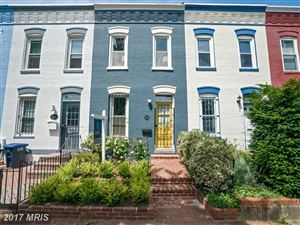 Photo of 1526 MARION ST NW, WASHINGTON, DC 20001 (MLS # DC9983418)