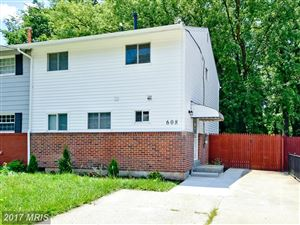 Photo of 608 BIRCHLEAF AVE, CAPITOL HEIGHTS, MD 20743 (MLS # PG10109418)