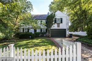 Photo of 2 LELAND CT, CHEVY CHASE, MD 20815 (MLS # MC9903424)