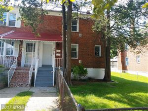 Photo of 4910 POE AVE, BALTIMORE, MD 21215 (MLS # BA10084431)
