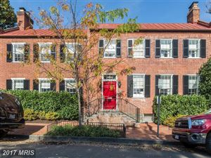 Photo of 2613 DUMBARTON ST NW, WASHINGTON, DC 20007 (MLS # DC10106561)