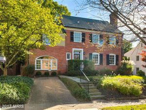 Photo of 4108 BLACKTHORN ST, CHEVY CHASE, MD 20815 (MLS # MC9786593)