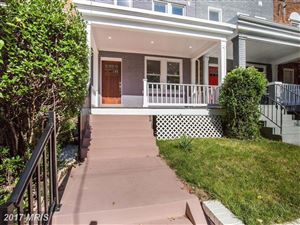 Photo of 841 DECATUR ST NW, WASHINGTON, DC 20011 (MLS # DC10087671)