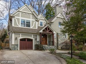 Photo of 3511 LELAND ST, CHEVY CHASE, MD 20815 (MLS # MC9880678)