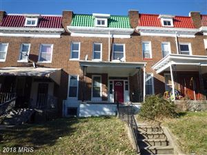 Photo of 2812 NORFOLK AVE, BALTIMORE, MD 21215 (MLS # BA10119706)