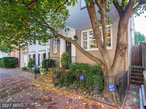 Photo of 3128 N ST NW, WASHINGTON, DC 20007 (MLS # DC10100717)