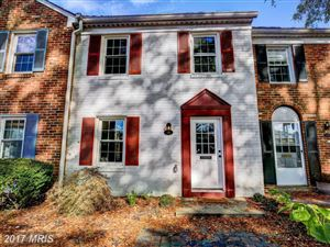Photo of 16 GEORGETOWN CT #1, ANNAPOLIS, MD 21403 (MLS # AA10104744)