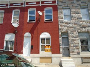 Photo of 831 MONTFORD AVE N, BALTIMORE, MD 21205 (MLS # BA10038755)