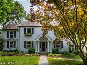 Photo of 134 GRAFTON ST, CHEVY CHASE, MD 20815 (MLS # MC10013819)