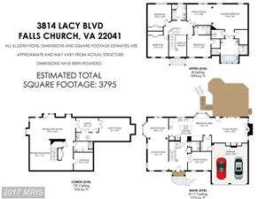 Tiny photo for 3814 LACY BLVD, FALLS CHURCH, VA 22041 (MLS # FX9968848)