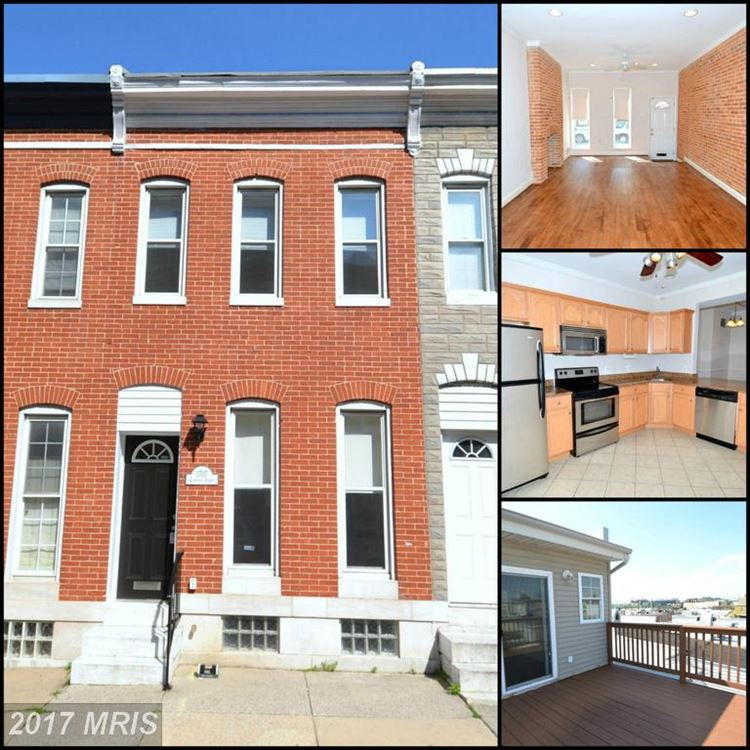 Photo for 1707 CLARKSON ST, BALTIMORE, MD 21230 (MLS # BA9920932)