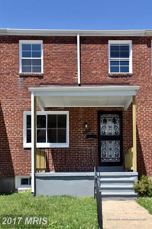 Photo for 1706 SWANSEA RD, BALTIMORE, MD 21239 (MLS # BA9997932)