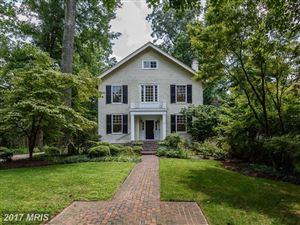 Photo of 26 W. KIRKE ST, CHEVY CHASE, MD 20815 (MLS # MC10056965)