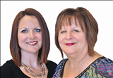Corrine Galligan and Sue Farrell, EXIT 1st Class Realty