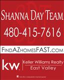 Bill Munden w/ The Shanna Day Team, Keller Williams Realty East Valley