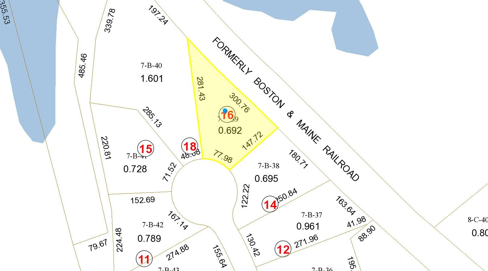 Plot plan 16 Orchard Blossom Rd Windham NH